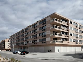 Guindalera Residential Building Modern houses by Ignacio Quemada Arquitectos Modern