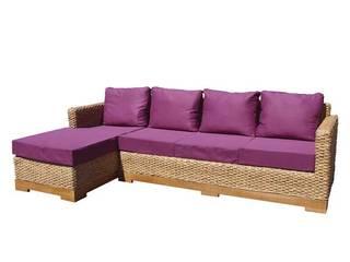 Canapé d'angle écologique:  de style  par Ônature