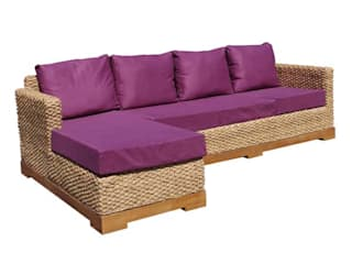 Canapé Authentic : un canapé conçu entièrement avec des matériaux écologiques:  de style  par Ônature