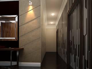 Couloir, entrée, escaliers originaux par Address Éclectique