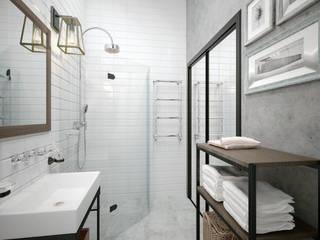 Гостевая ванная: Ванные комнаты в . Автор – Loft&Home