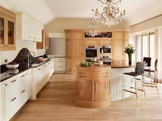 Canterbury | Solid Oak, Hand Painted Kitchen Davonport ห้องครัว White