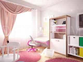 Квартира, Высоковольтный: Детские комнаты в . Автор – Loft&Home