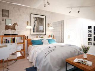 Таунхаус, КП Кембридж: Спальни в . Автор – Loft&Home