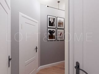 Таунхаус, КП Кембридж: Коридор и прихожая в . Автор – Loft&Home
