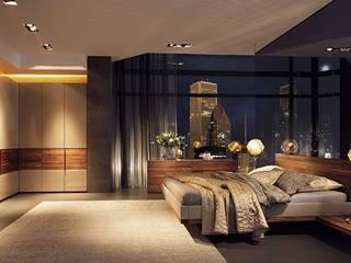 Design Lounge Hinke Wien: modern tarz , Modern