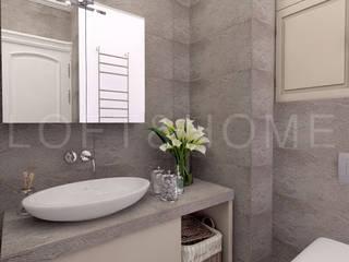 Квартира, 108м2: Ванные комнаты в . Автор – Loft&Home
