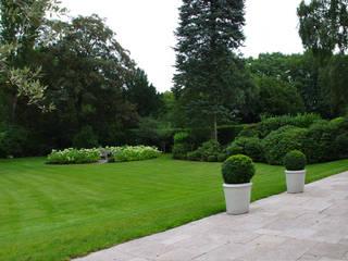 Außenanlagen Meerbusch Garten im Landhausstil von Riesop Landschaftsarchitektur GmbH Landhaus