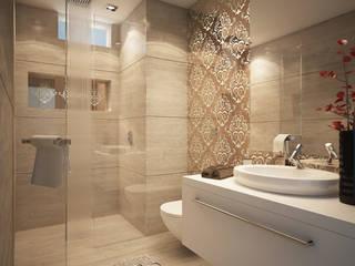 Luxury Bathrooms Modern bathroom by FUSSON STUDIO Modern