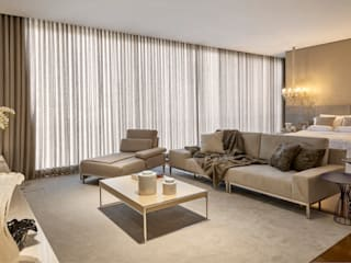Chambre de style  par Estela Netto Arquitetura e Design,