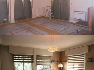Rénovation séjour:  de style  par AUREA DECO