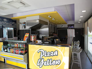 Pizzéria:  de style  par AUREA DECO