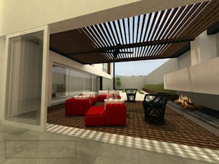 Patios by fc3arquitectura,