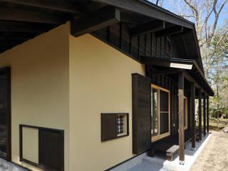 茶室側からの外観: モリモトアトリエ / morimoto atelierが手掛けた家です。