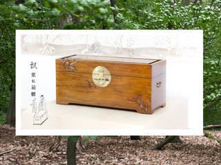 Schöne Holztruhe aus China von MuHo Style GmbH Asiatisch
