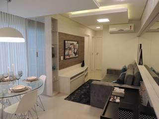 Decorado Piacenza Residencial Salas de estar modernas por Cembrani móveis Moderno