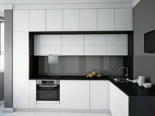 Проект квартиры в монолитном доме: Кухни в . Автор – Студия интерьера МЕСТО