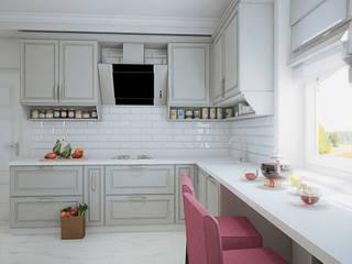 Коттедж в поселке Погораны: Кухни в . Автор – Студия интерьера МЕСТО