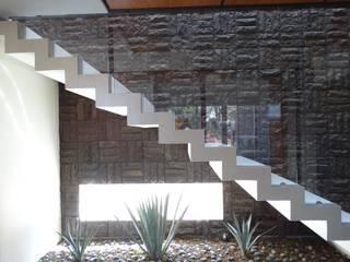 Proyecto Casa Moll Pasillos, vestíbulos y escaleras rurales de Home & House Studio Rural