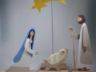 Weihnachten - Krippenfiguren - Engel:   von mw-holzkunst