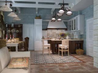 Küche von Студия Архитектуры и Дизайна Алисы Бароновой