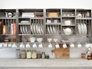 Modular Storage van The Plate Rack Industrieel