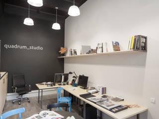 Edifícios comerciais industriais por QUADRUM STUDIO Industrial