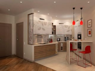 Modern kitchen by GP-ARCH Modern