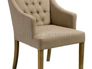 LeHome Interiors Living roomStools & chairs Wood Beige