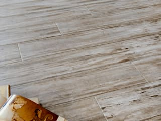 Wood Effect Tiles de The London Tile Co. Rústico