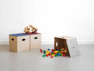 Dormitorios infantiles de estilo moderno de SPOD Moderno
