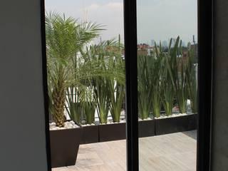 Roof Gardens: Terrazas de estilo  por Farquitectos