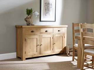 Fairford Dining by Corndell: country  by Corndell Quality Furniture, Country