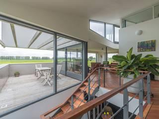 MAS architectuur Moderne Wohnzimmer