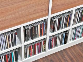 CD Einsatz für Ikea Expedit Regal bietet ausreichend Platz für deine Sammlung von NSD New Swedish Design GmbH Skandinavisch Holzspanplatte