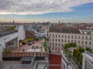 BEGRÜNDER Varandas, alpendres e terraços modernos
