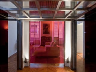 Modern Corridor, Hallway and Staircase by ODD - Officina D'architettura e Design Modern