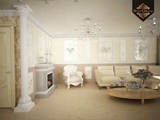 Living room by Decor&Design, Classic
