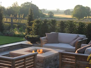The Croft Jardines de estilo moderno de Bestall & Co Landscape Design Ltd Moderno