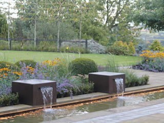 Rural Views Modern garden by Bestall & Co Landscape Design Ltd Modern