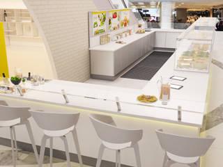 Кафе Tomeli's, Лондон от Катков Сергей Минимализм