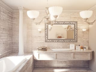 Classic style bathroom by Катков Сергей Classic