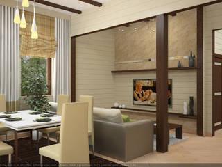 Дизайн проект дома из клееного бруса:  в . Автор – Миродом