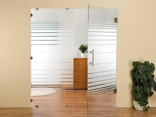 Glastüranlagen schoener-bauen24.de Moderne Wohnzimmer Glas