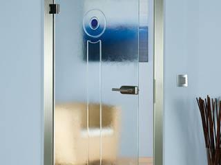 Schmelzglastüren schoener-bauen24.de Moderne Wohnzimmer Glas