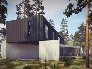 Z3Z ARCHITEKCI Minimalist houses
