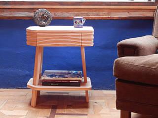 MESAS DE LUZ Y AUXILIARES TALAMPAYA:  de estilo  por TocToc - Muebles y Objetos Argentinos,