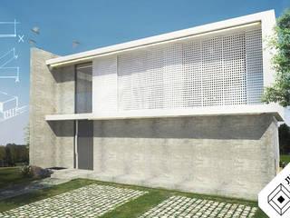 Casa XY: Casas  por Julio Ferreira Arquitetura,