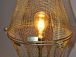 TALL FLOOR LIGHT 'FREE AS A BIRD' it's a light Ruang Keluarga Gaya Industrial