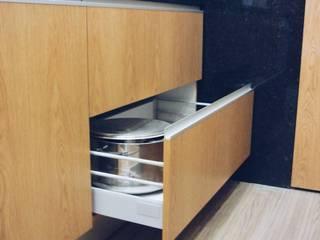 KUUK Modern kitchen MDF Wood effect